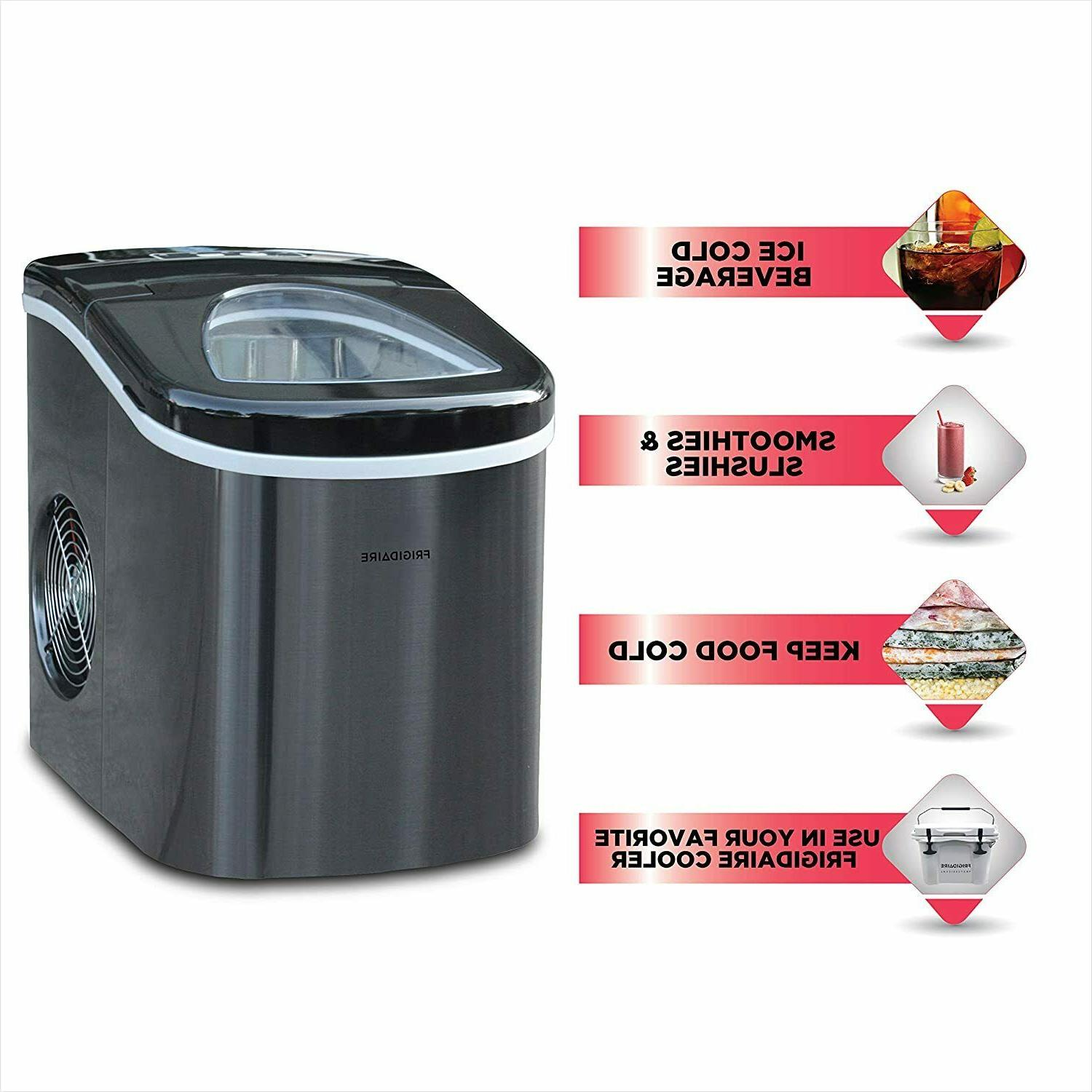 Ice Maker Countertop, Ice Cube Makers, 26 lbs/ 24h