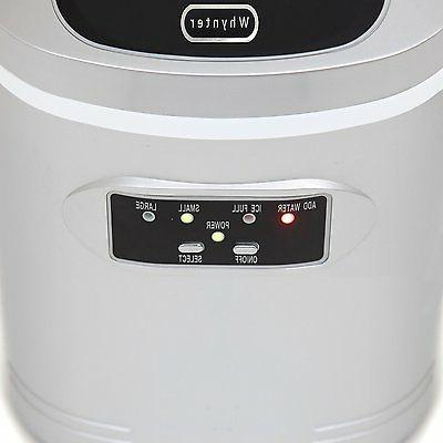 Ice Maker Compact New Cube Sizes Home Travel