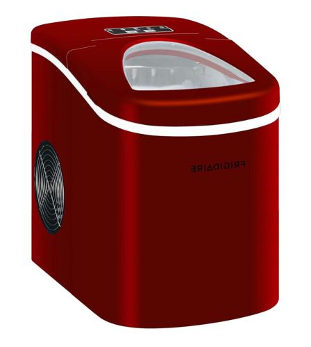 Igloo ICE108-RED EFIC108-RED Compact Ice Maker Red 14.9inx14