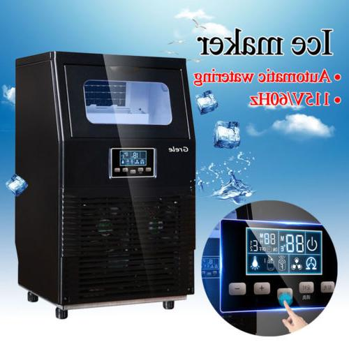 Intelligent Automatic LCD Ice Rapid Cube Machine