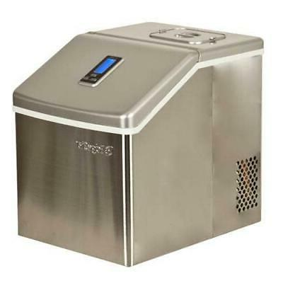 ip211 portable ice maker stainless steel