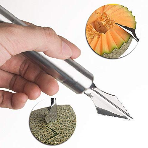 Melon Stainless Fruit Carving Ice Cream Scoop Safe
