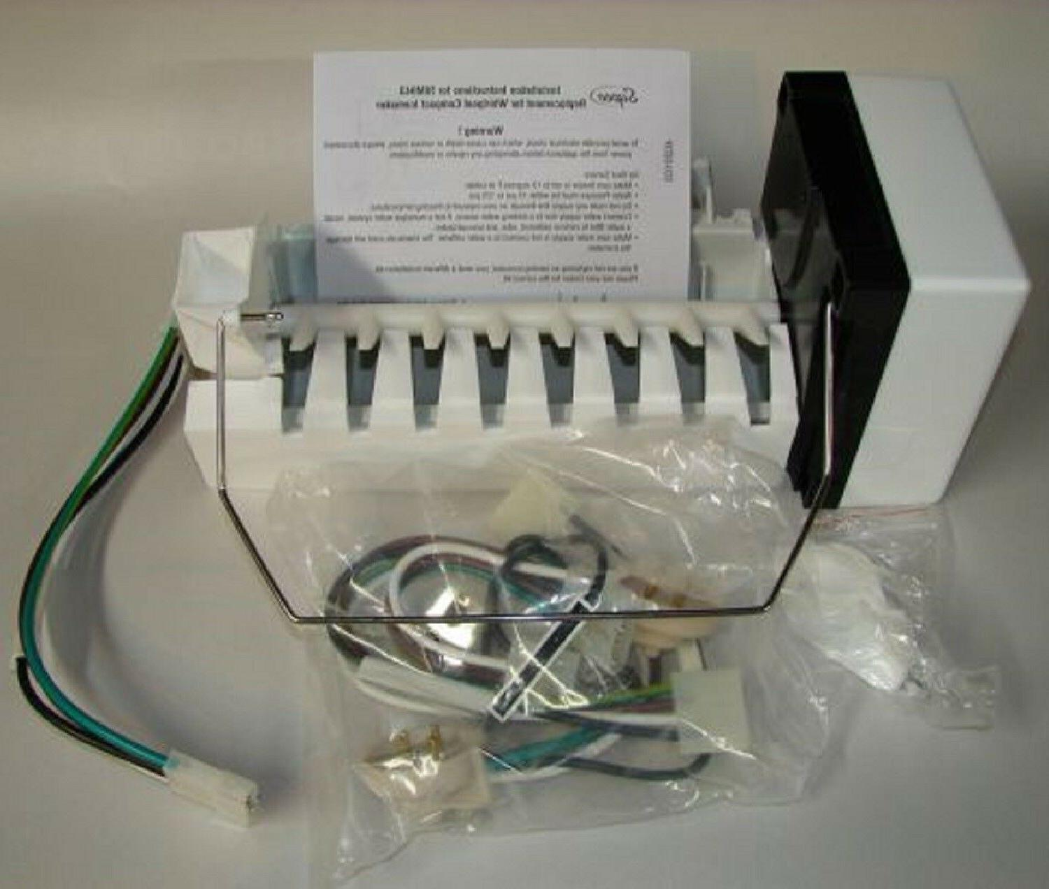 new ice maker replacement kit rim943 refrigerator