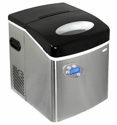 newair ai 215ss portable countertop ice maker