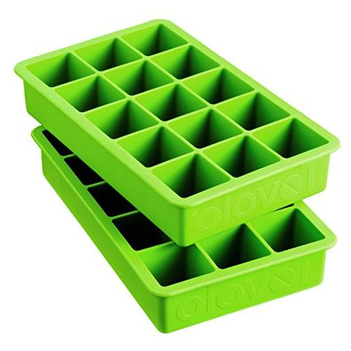 Tovolo Perfect Green Ice Tray Set Of Trays