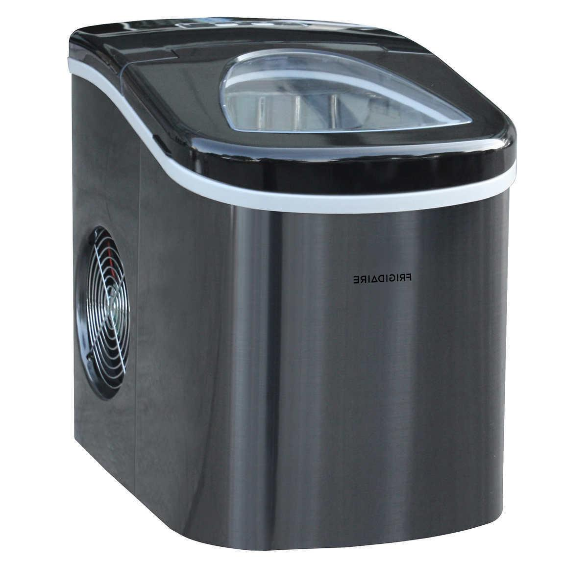portable ice maker compact quiet self cleaning