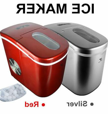 portable ice cube ice maker freestanding countertop