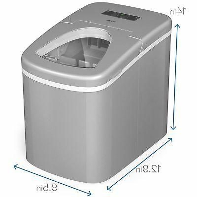 hOmeLabs Portable Ice Machine for - Makes 26 lbs of 24
