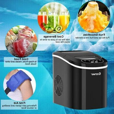 Portable Ice Maker for Home Ice Cubes Ready Make lbs