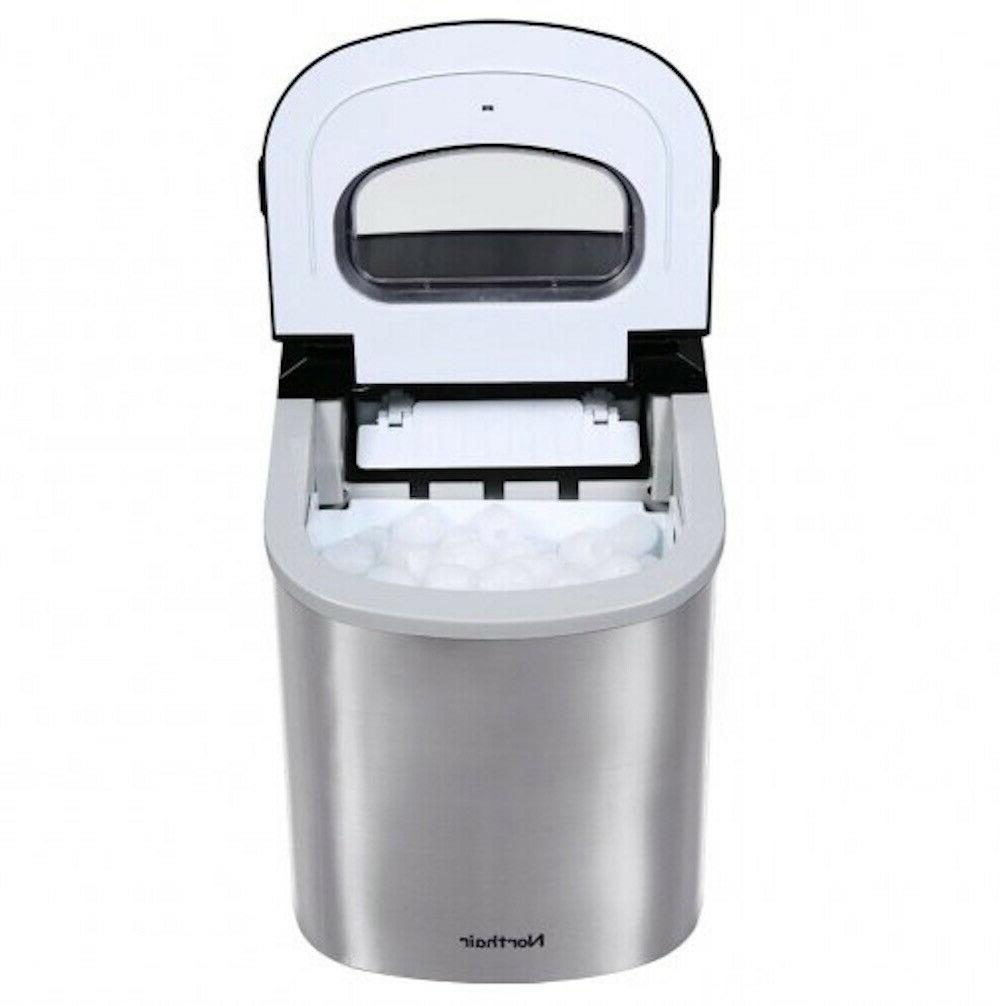 Portable Ice Maker Steel Camping