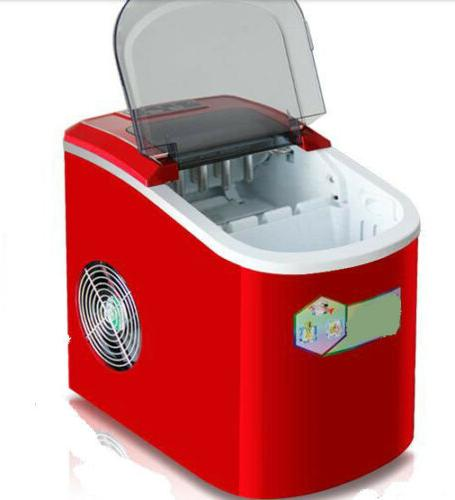 red plastic kitchen countertop ice makers home