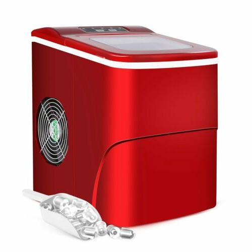 Red Compact Electric Cube Indoor