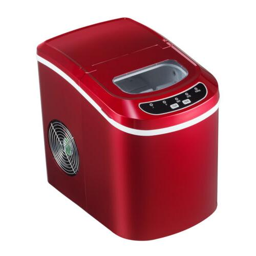 Electric Portable Ice Maker Compact Countertop Ice Cube Make