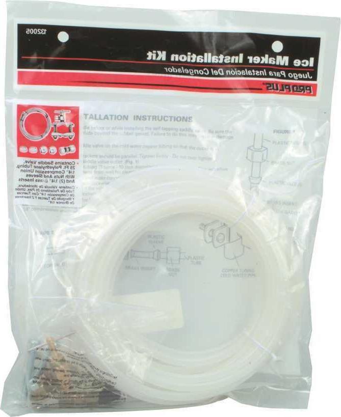 refrigerator ice maker water line poly tubing