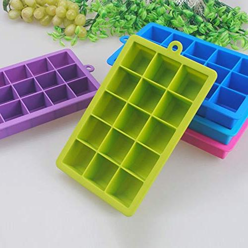 Silicone Cube - Grids Silicone Friendly Square Cavity Small Fruit - Circle Bone Food Usa Giant