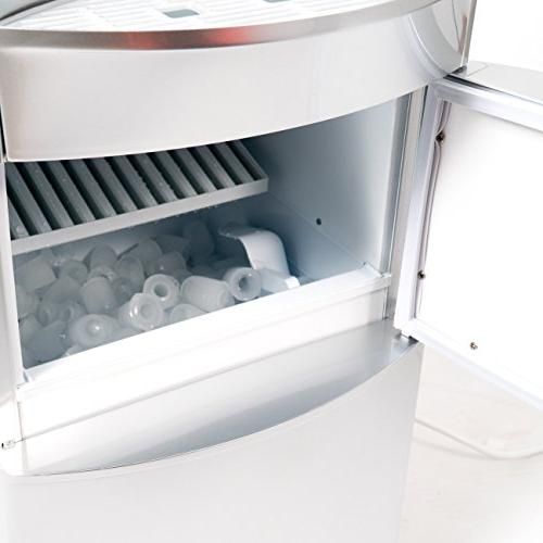 Dispenser Ice Maker Hot Cooler Load Silver