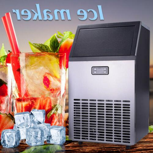 US Commercial Ice Maker Air Cooled Freestanding Machine 115V