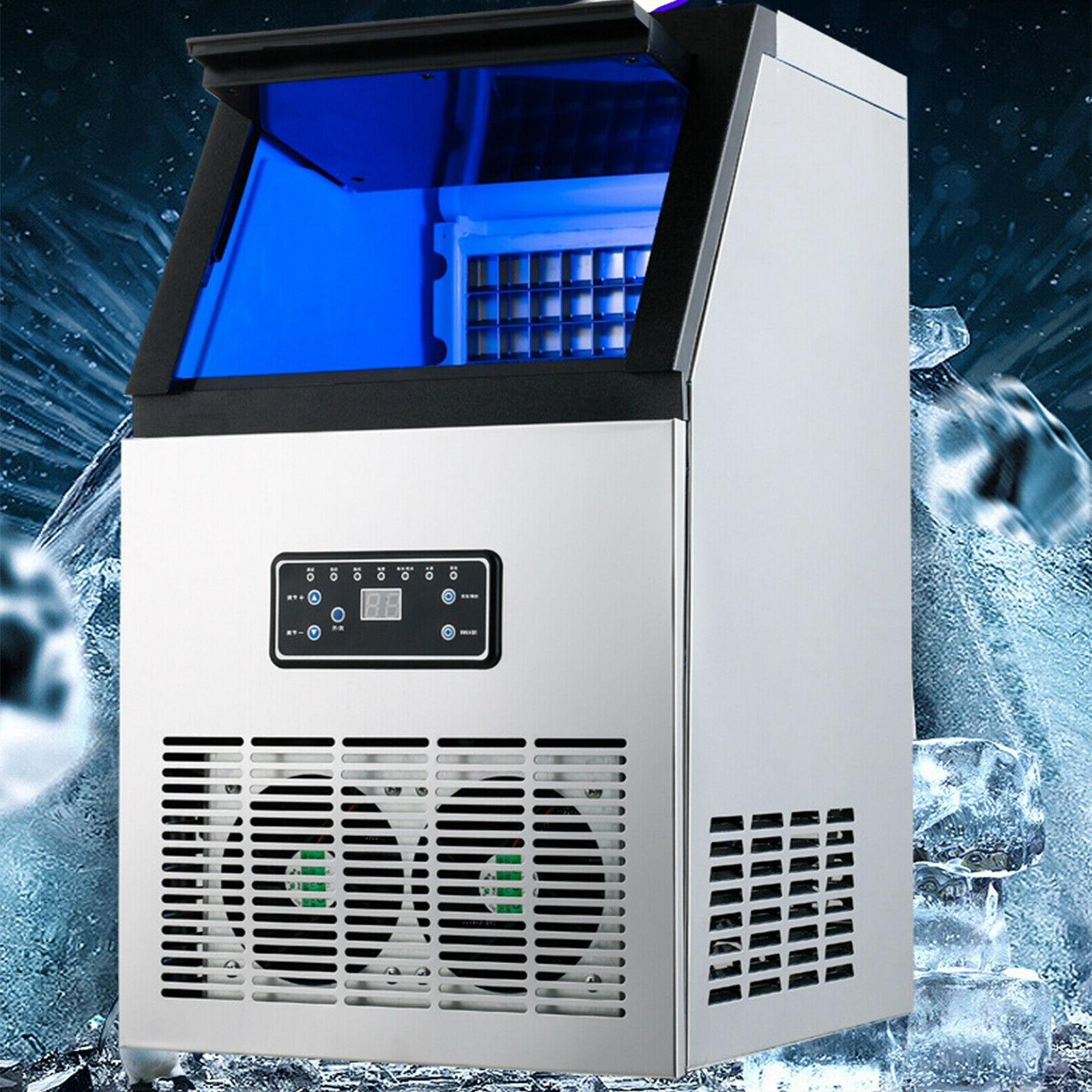 Stainless Undercounter Ice Maker Air Cube