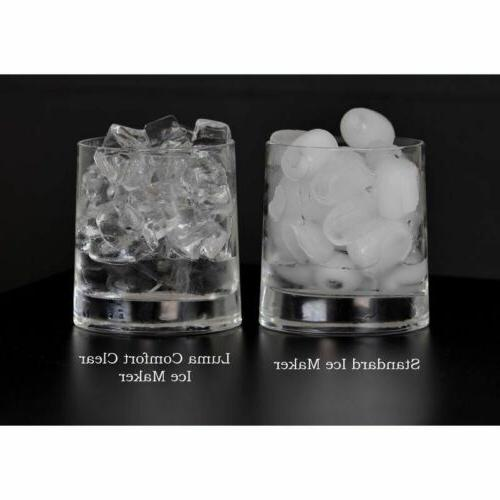 Stainless Steel Ice Countertop Home Small IceCube Machine