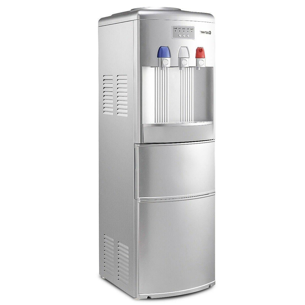 Top Loading Water Dispenser with Built-In Ice Maker Machine
