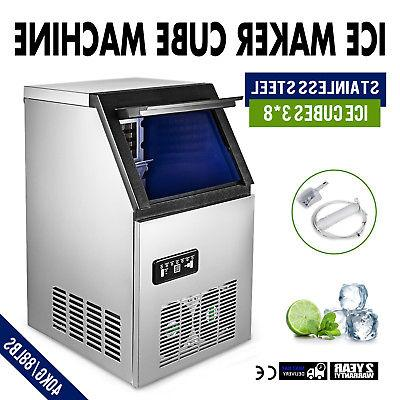 us 90lb built in commercial ice maker