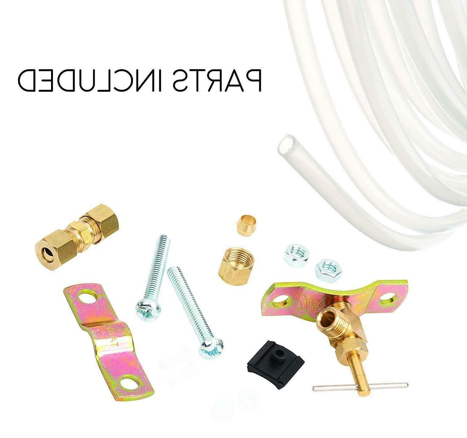 water line poly hose tubing install kits