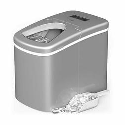 larger portable countertop ice maker hasslefree electronic