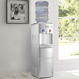 MD Group Top Loading Water Dispenser with Built-In Ice Maker