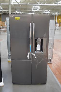 """LG LSXS26366D 36"""" Black Stainless Side-by-Side Refrigerator"""