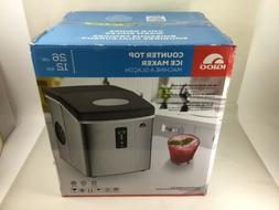 IGLOO new countertop ice maker 26 lb per day ICE103 stainles