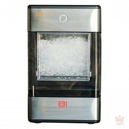 Nugget Ice Maker Countertop Crushed Opal Portable Bluetooth