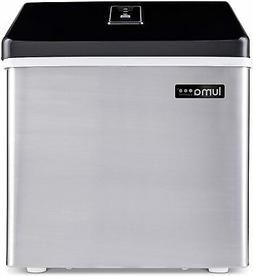 Luma Comfort Portable Clear Ice Maker 28 lb Daily Perfect Co
