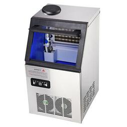 portable commercial ice maker machine 300w stainless