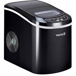 Costway Portable Compact Electric Ice Maker Machine Counter