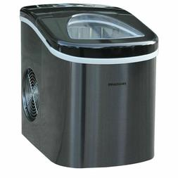 Frigidaire Portable Compact Self Cleaning Ice Maker, Stainle