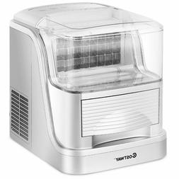 Portable Electric Ice Maker Machine Compact, Capacity 33lb