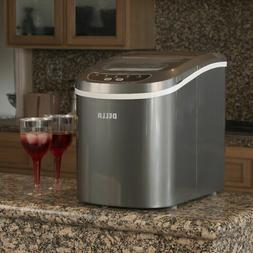 DELLA Portable Electric Ice Maker, Touch Button Display, Up