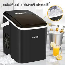 Electric Portable Frigidaire Ice Maker Cube Machine Countert