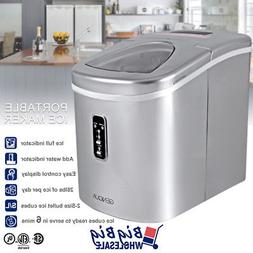 portable ice cube maker machine countertop electric