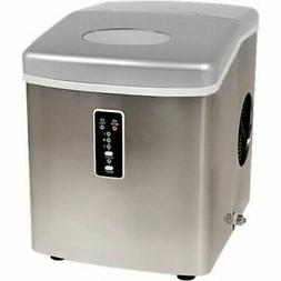 Edgestar Portable Ice Maker, Compact Stainless Steel Counter