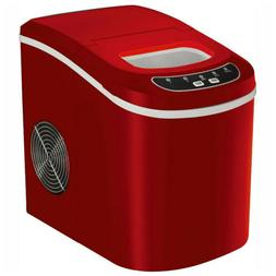 Portable Electric Ice Maker Compact Countertop Ice Cube Mach