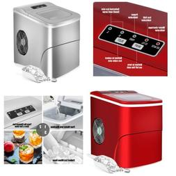 Portable Ice Maker Machine Counter Top  Ice Cubes Home Bar.