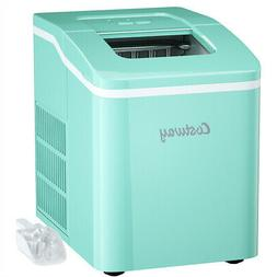 Portable Ice Maker Machine Countertop 26Lbs/24H Self-cleanin