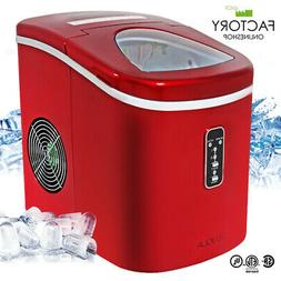 Portable Ice Maker Machine Countertop Freestanding 2-Size 26