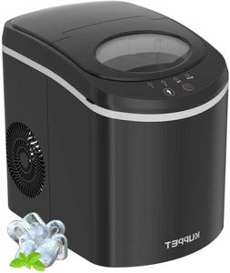 Portable Ice Maker Machine Countertop LED Self-Cleaning Ice