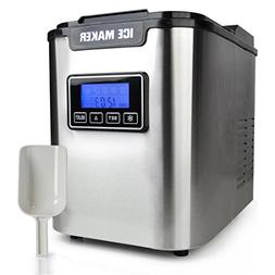 Portable Digital Ice Maker Machine| Stainless Steel Stain Re