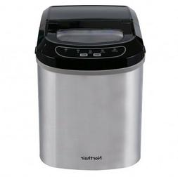 Portable Ice Maker Stainless Steel Countertop Machine Outdoo