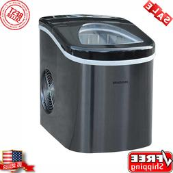 Frigidaire Portable Self Cleaning Compact Ice Maker Black St