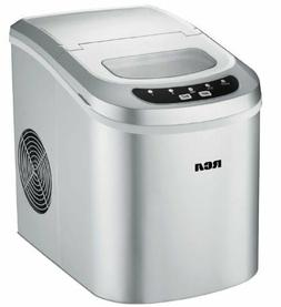 ric102 silver ice maker portable compact 26