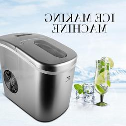 Silver Portable Ice Cold Maker Machine Bullet Shape Cube Cou